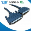 China SCSI CN IDC Type 68Pin to HPDB68 Pin and VHDCI Connector SCSI Cable Male to Male for sale