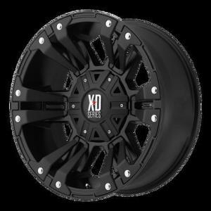 China BAK Industries 18x9 Matte Black KMC XD Monster 2 wheel +18mm on sale