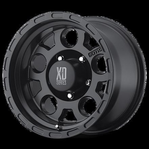 China 16X9 MATTE BLACK XD ENDURO WHEEL -12mm OFFSET on sale