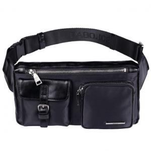China Pabojoe Genuine Leather Messenger Bag Fashion Crossbody Shoulder Bag on sale