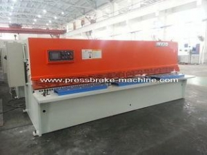 China Hydraulic CNC Guillotine Shearing Machine Sheet Metal Cutting Shears on sale