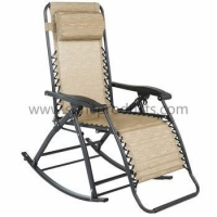 SUNE Products Zero Gravity Rocking Chair Lounge Porch Seat Outdoor Patio