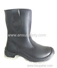 China Height Cut Safety boots AX03100 safety boot high cut safety footwear on sale