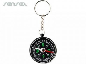 China Promotional Direction Key Rings With Compass on sale