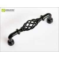 10Pcs Drawer Hardware Iron Kitchen Cabinet and Furniture Pull Handle(C..C.: 128mm,Length: 135mm)