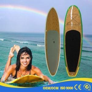 China Strong Top Quality IXPE TOP HDPE Bottom Soft SUP Board with Paddle on sale