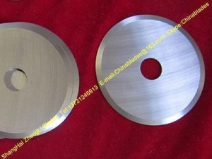 China Slitter rubber outsole blade,slitting Rubber circular knife ,Rubber mag on sale