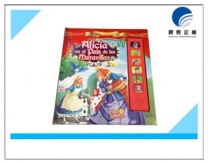 China Music box with color story book for children on sale