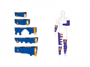 China Blue Splint Kit on sale