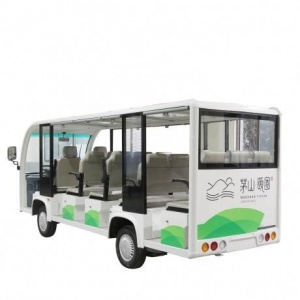 China Electric sight-seeing Cars 14 Seats Sightseeing Car City Tourist Bus on sale