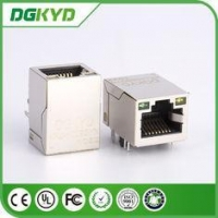 China KRJ - H009GYNL network jack rj45 keystone module Single port with LEDs KRJ-H009GYNL on sale