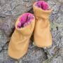 China Childrens Deerskin Slippers on sale