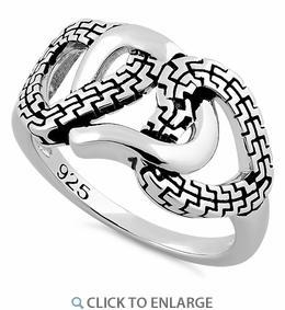 China Silver Rings SRP835 on sale