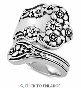China Silver Rings SRP1616 on sale