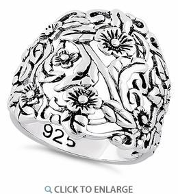 China Silver Rings SRP832 on sale