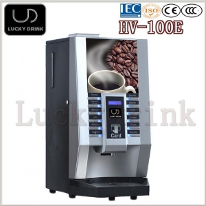 China Bean Grinding Coffee Vending Machine HV-101E and HV-100E on sale