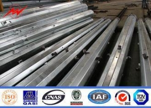 China Galvanized Transmission Power Line Pole Cross Arm For Electricity Distribution on sale