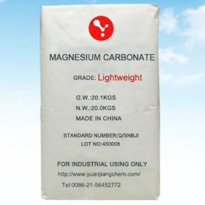 China light magnesium carbonate on sale