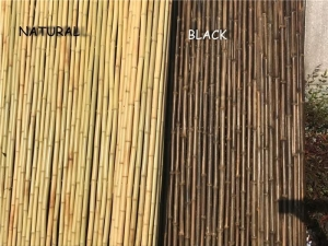 China High Quality and Environmental Friendly Green Natural Pollution-free Bamboo Fence on sale