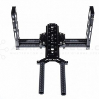 CNC Precision Machine Factory Gimbal Camera Tray And Pitch Arms With Experienced CNC Support
