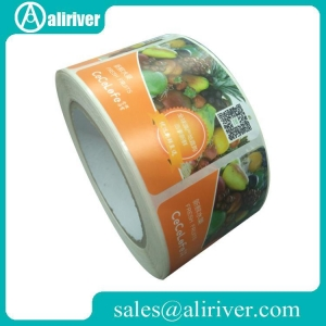 China Food Bottle Labels Adhesive Fruit Labels on sale