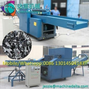 China Factory supply used clothes crushing shredding machine/leather cutting machine/rags cutting machine on sale