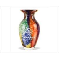 Personalized Murano Style Art Vase - Giveryn