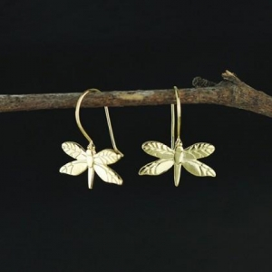 China 925 Sterling silver Dragonfly earrings on sale