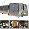 China Industrial Waffle Ice Cream Cone Production Line|Sugar Cone Processing Machine Line for sale