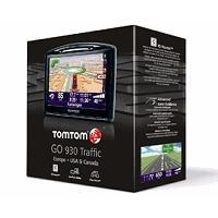 TomTom GO 930T Portable GPS Navigator with Maps of US, Canada and Europe with Traffic