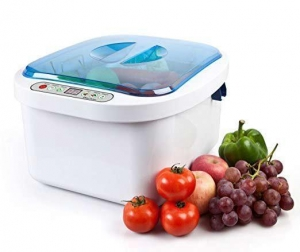 China Air bubble cleaning machine Home vegetable washing machine on sale