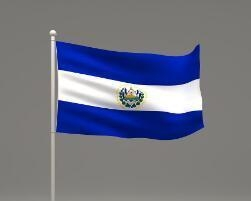 China Custom Waterproof and Sunproof El Salvador National Flag on sale