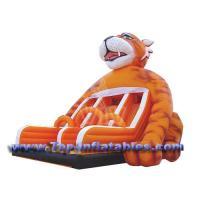 Inflatable Bouncers Huge Tiger Slide