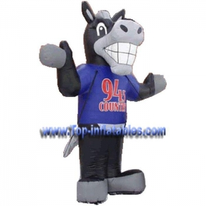 China Inflatable Games Costume Horse on sale