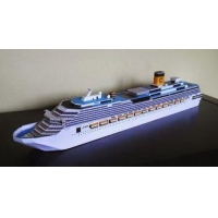 Plastic Cruise Ship Models Costa Cruise