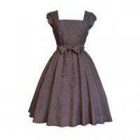New Arrival Plus Size Women Clothing Summer Cap Sleeve Polka Dots Vintage Dress