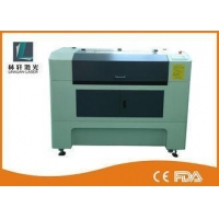 China LCD Control CO2 Laser Cutting Machine Water Cooling For Rubber / Wood on sale