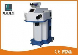 China High Precision Jewelry Welding Machine , 200W YAG Laser Spot Welding Machine on sale