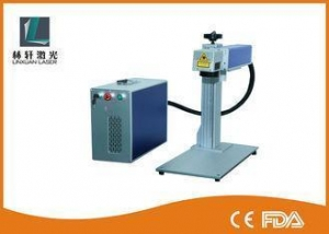 China Raycus Laser Source Optic Wire Marking Machine For Bearings / Auto Parts on sale