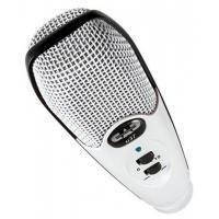 Brass Instrument CAD Audio U37SE-W U37 USB Cardioid Condenser Studio Recording Microphone, White