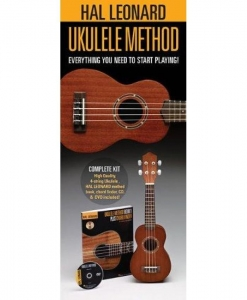 China Hal Leonard 650804 Starter Pack with Ukulele, Method Book/online audio and DVD on sale