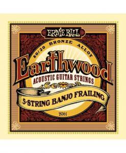 China Ernie Ball Earthwood 5-string Banjo 80/20 Bronze Loop End Frailing Set, .010 - .024 on sale