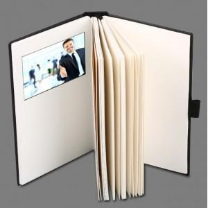 China 4.3 inch Video Note Book with HD LCD Video Screen on sale