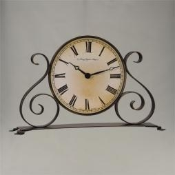 China CLOCKS Garland-Wrought Iron Design Qtz W22940.002100 on sale
