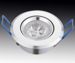 China High Intensity Discharge Lamps 3W RECESSED CEILINGLIGHT on sale
