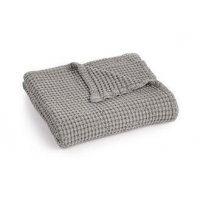 China Waffle Weave Cotton Couch Throw Blanket Super Soft Size / Logo Customized on sale