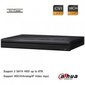 China Dahua 16CH 720P-Lite 1U 720P 1MP Realtime HD-CVI Analog IP Hybrid DVR H.264 on sale