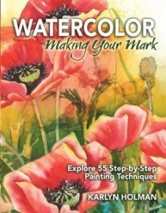 China ART BOOKS Watercolor - Making Your Mark by Karlyn Holman on sale