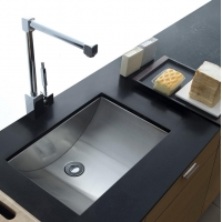 Basin Sinks MS-012 Stainless Steel Undermount Sink