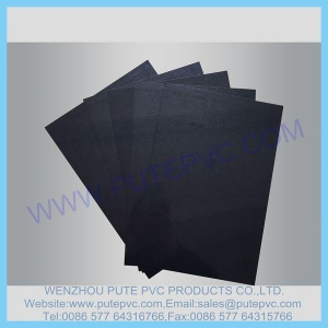 China PT-SP-002 Single Piece Self-adhesive PVC sheet for album, photo book, memory book, menu inner pages on sale